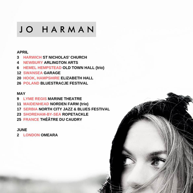 Jo Harman 'Found A Place' Tour