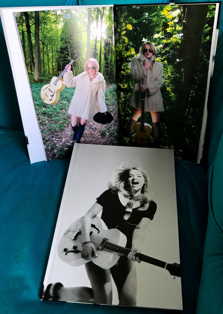 Musician Jo Harman limited edition book by photographer Alexis Maryon