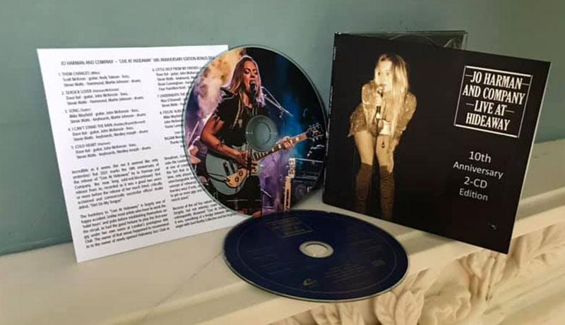 Jo Harman Live at Hideaway CD + extra CD