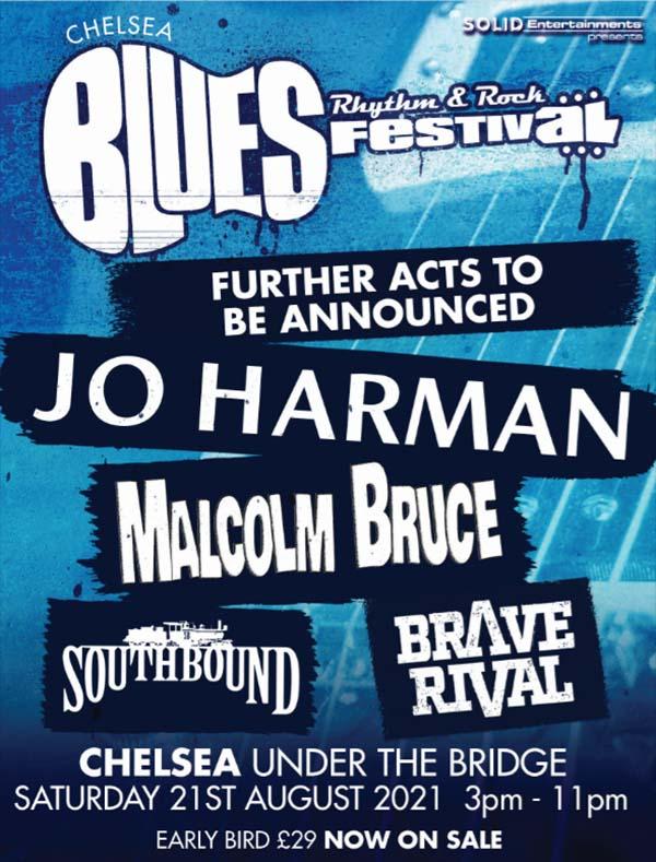 Jo Harman Chelsea Blues Festival