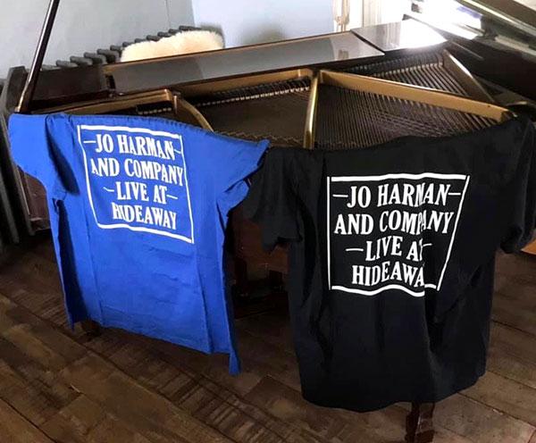 Jo Harman Live at Hideaway T-shirts